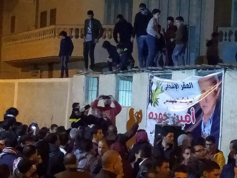 مسيرات فرح تجوب شوارع العريش احتفالا بفوز امين جودة بمقعد النواب (1)