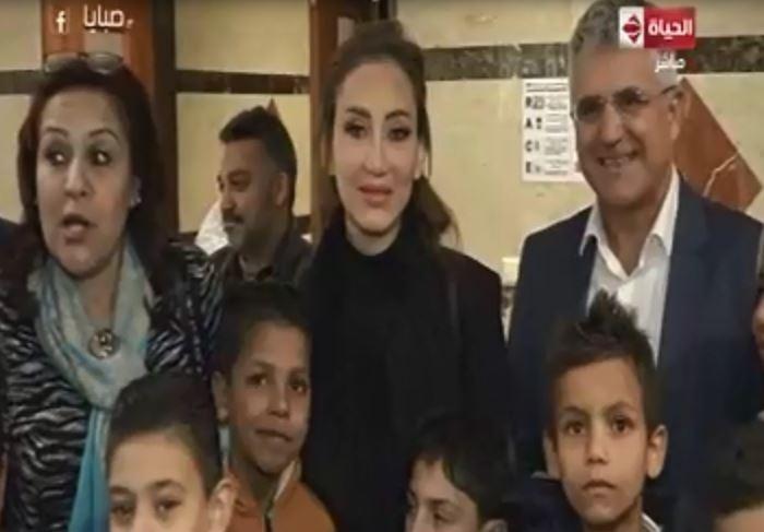 الأطفال مرضى القلب مع ريهام سعيد