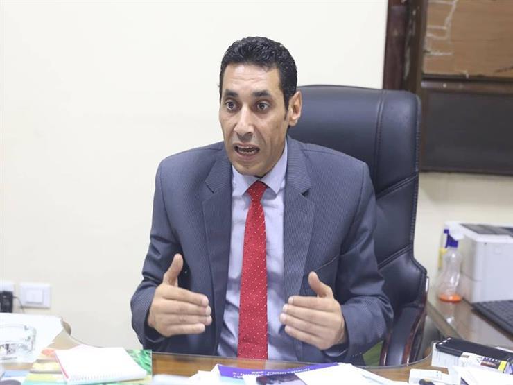 الدكتور ممدوح السباعي رئيس الإدارة المركزية لمكافحة الآفات الزراعية