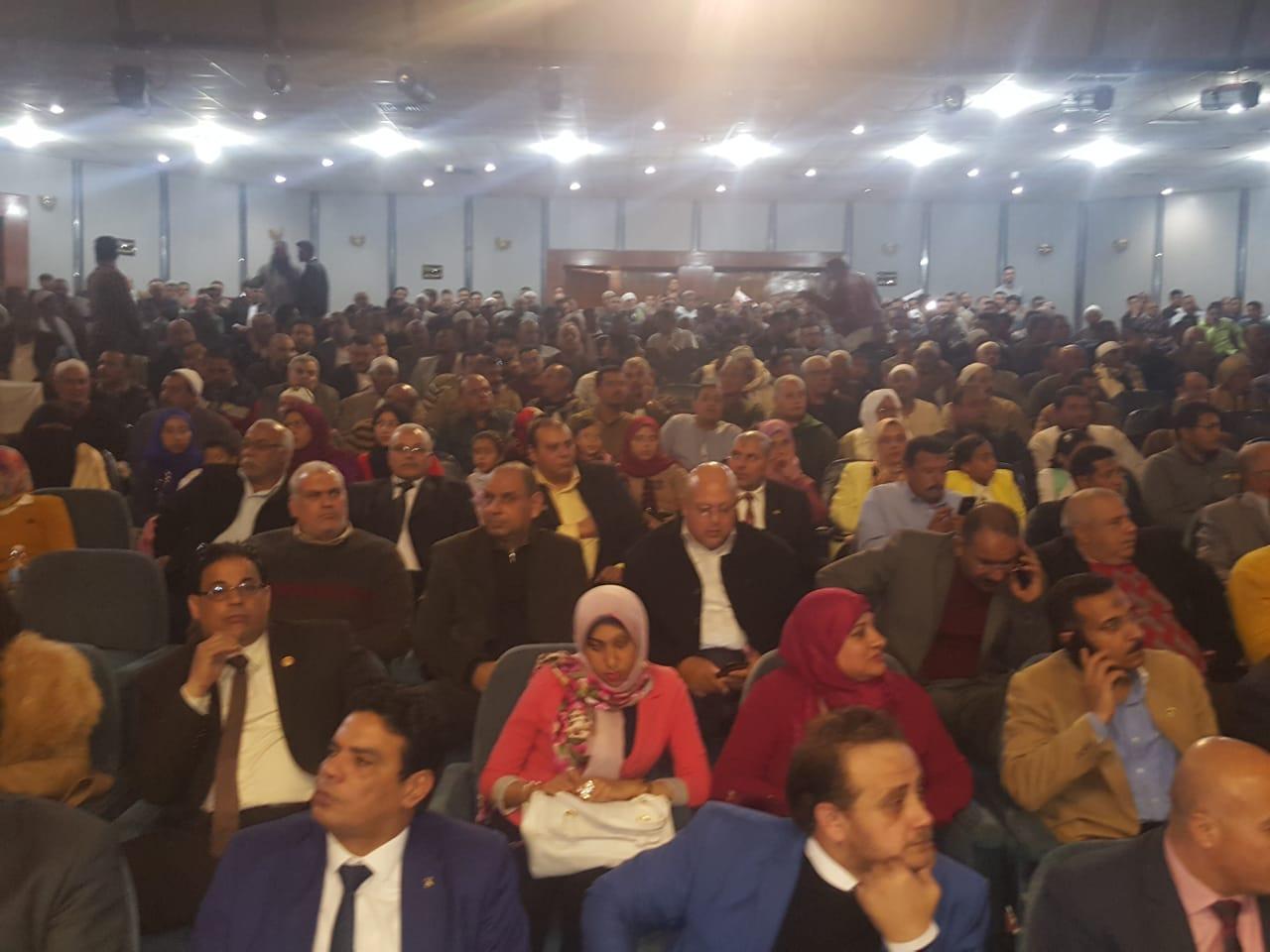 مؤتمر لحزب الحربة لدعم التعديلات الدستورية 1