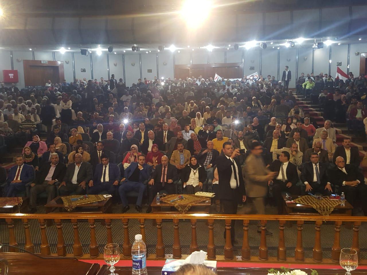 مؤتمر لحزب الحربة لدعم التعديلات الدستورية 2