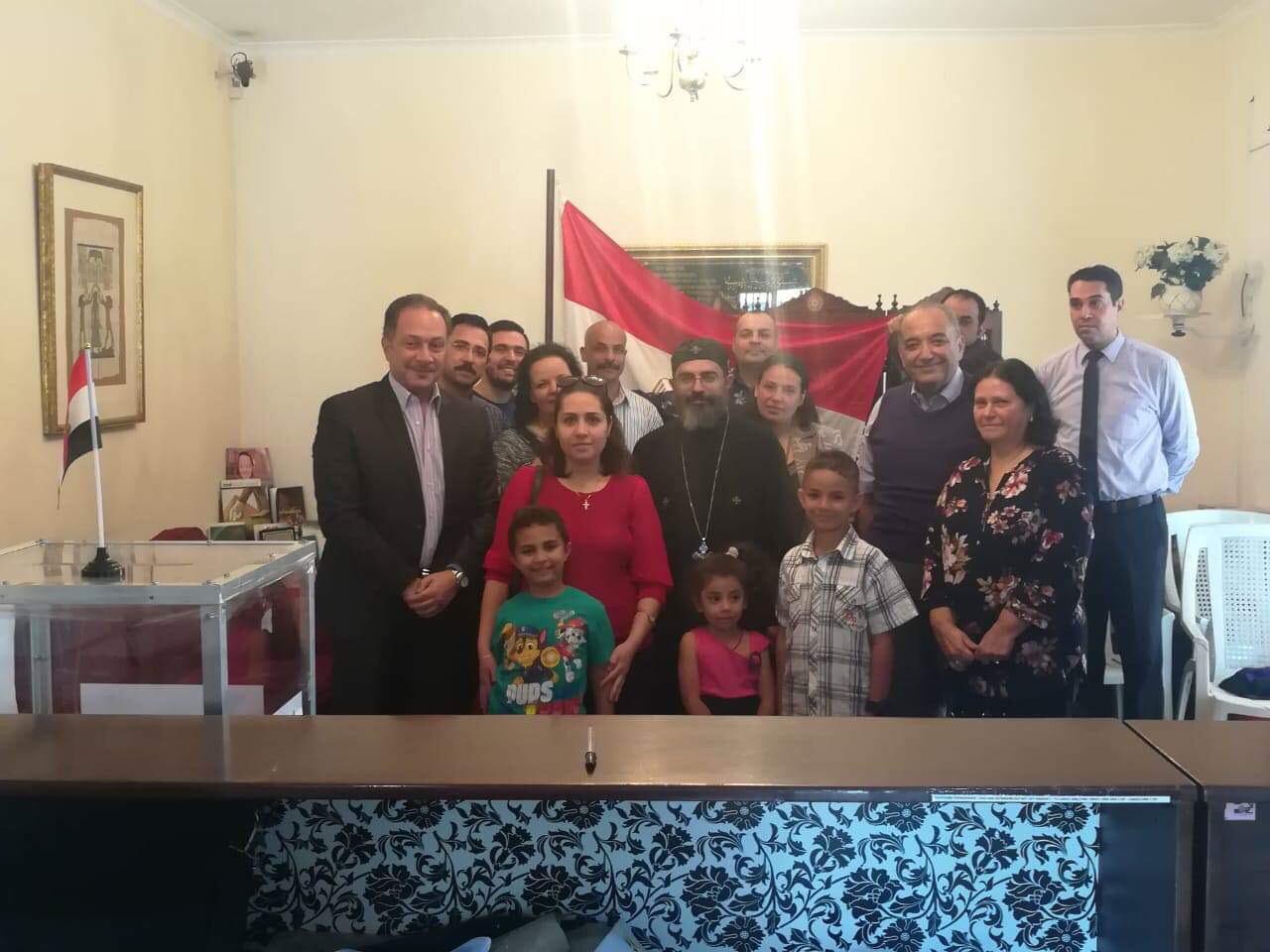 ممثلو الكنيسة المصرية في جوهانسبرج (2)