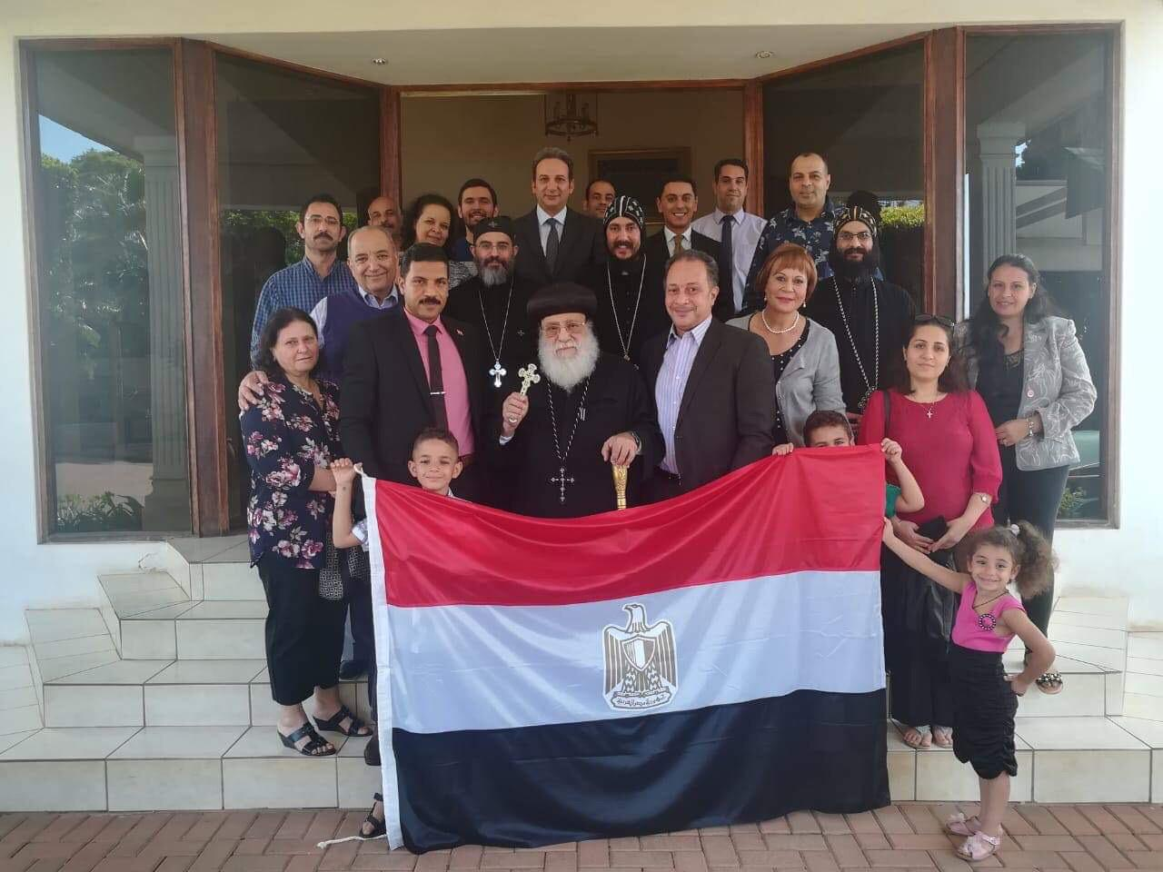 ممثلو الكنيسة المصرية في جوهانسبرج (5)