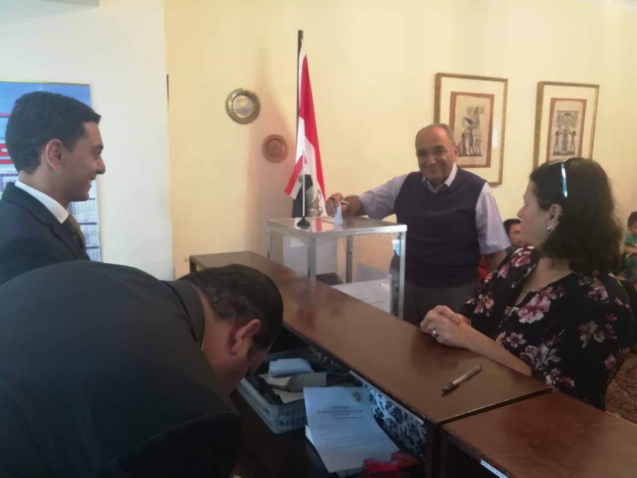ممثلو الكنيسة المصرية في جوهانسبرج (10)