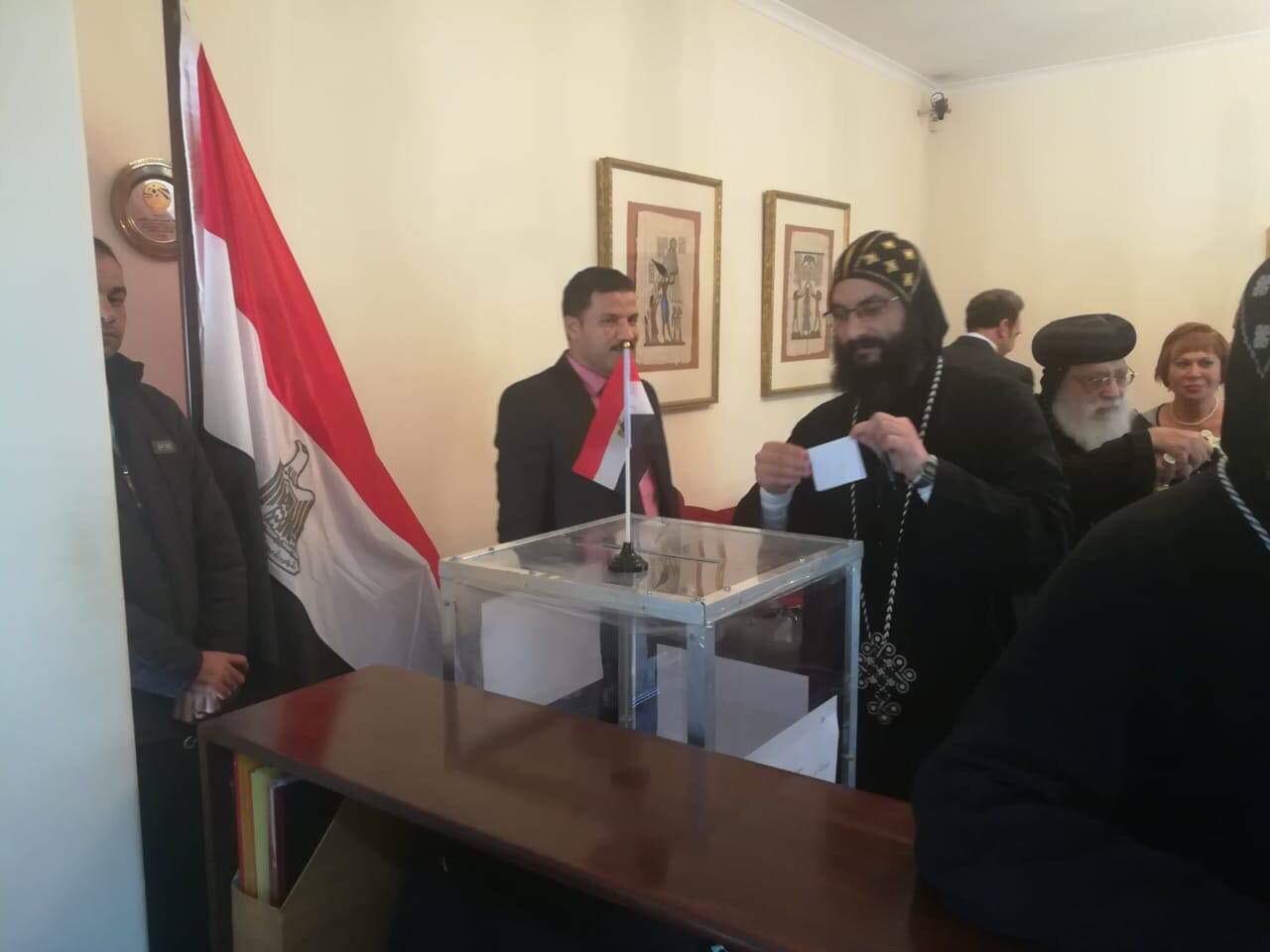 ممثلو الكنيسة المصرية في جوهانسبرج (8)