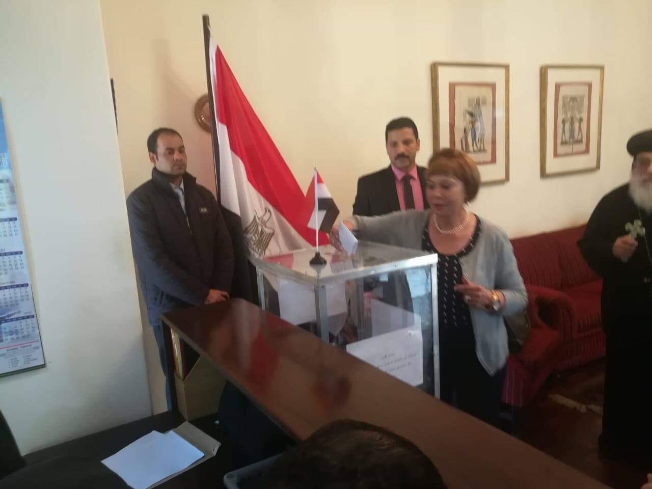 ممثلو الكنيسة المصرية في جوهانسبرج (11)