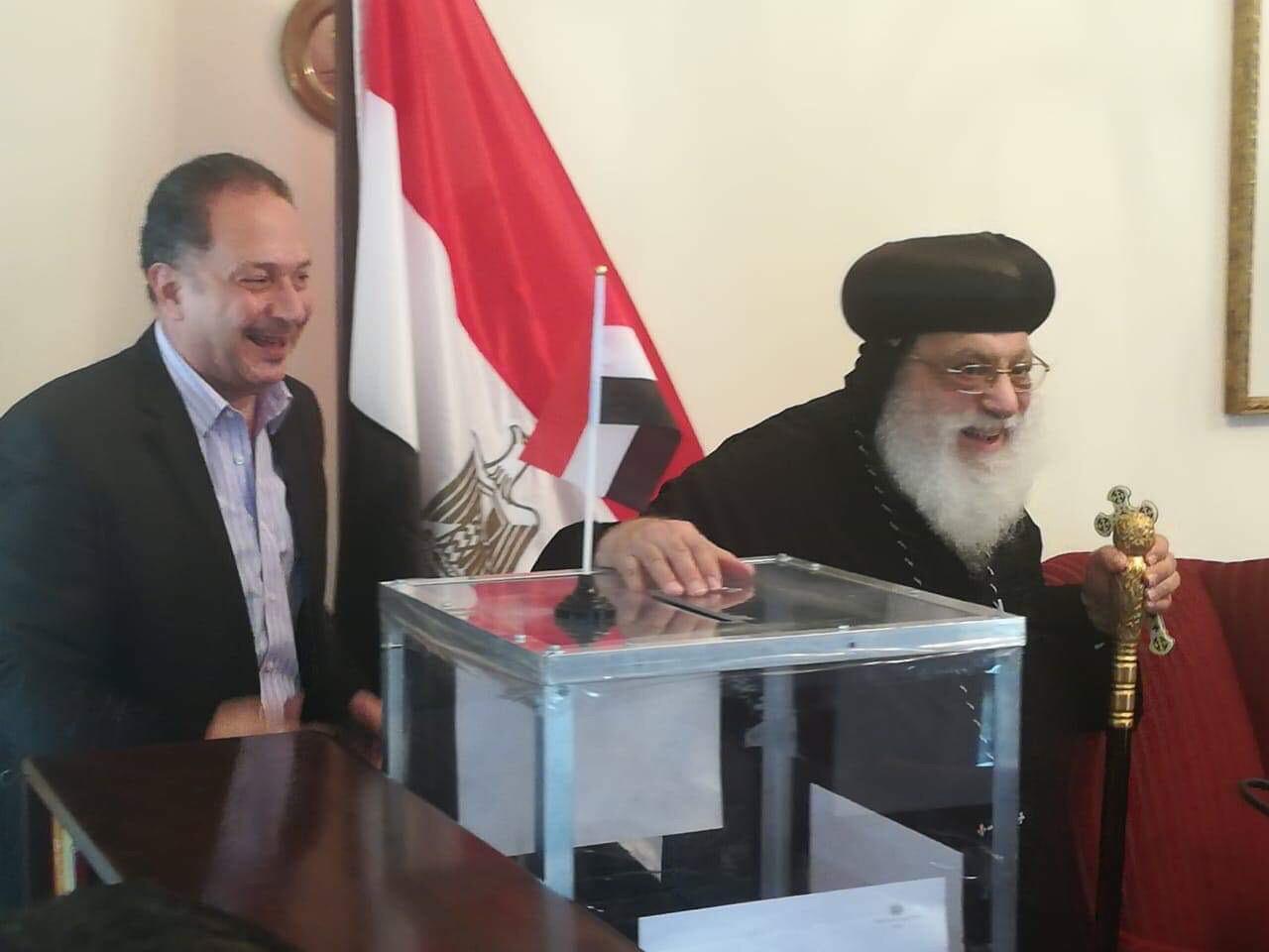 ممثلو الكنيسة المصرية في جوهانسبرج (4)