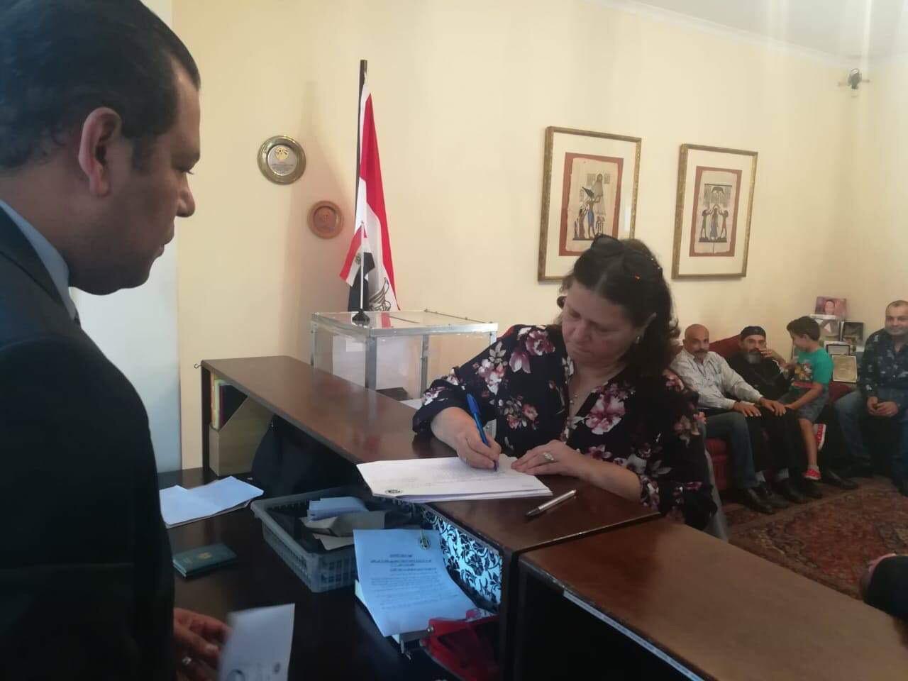 ممثلو الكنيسة المصرية في جوهانسبرج (1)