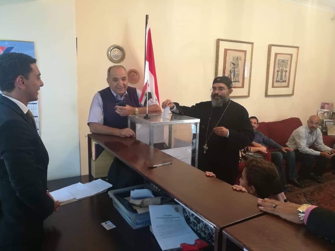 ممثلو الكنيسة المصرية في جوهانسبرج (12)