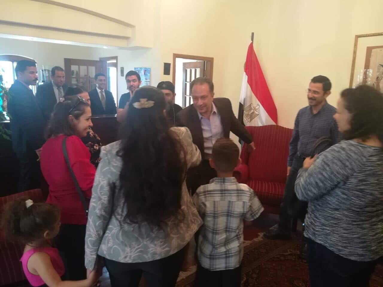 ممثلو الكنيسة المصرية في جوهانسبرج (7)