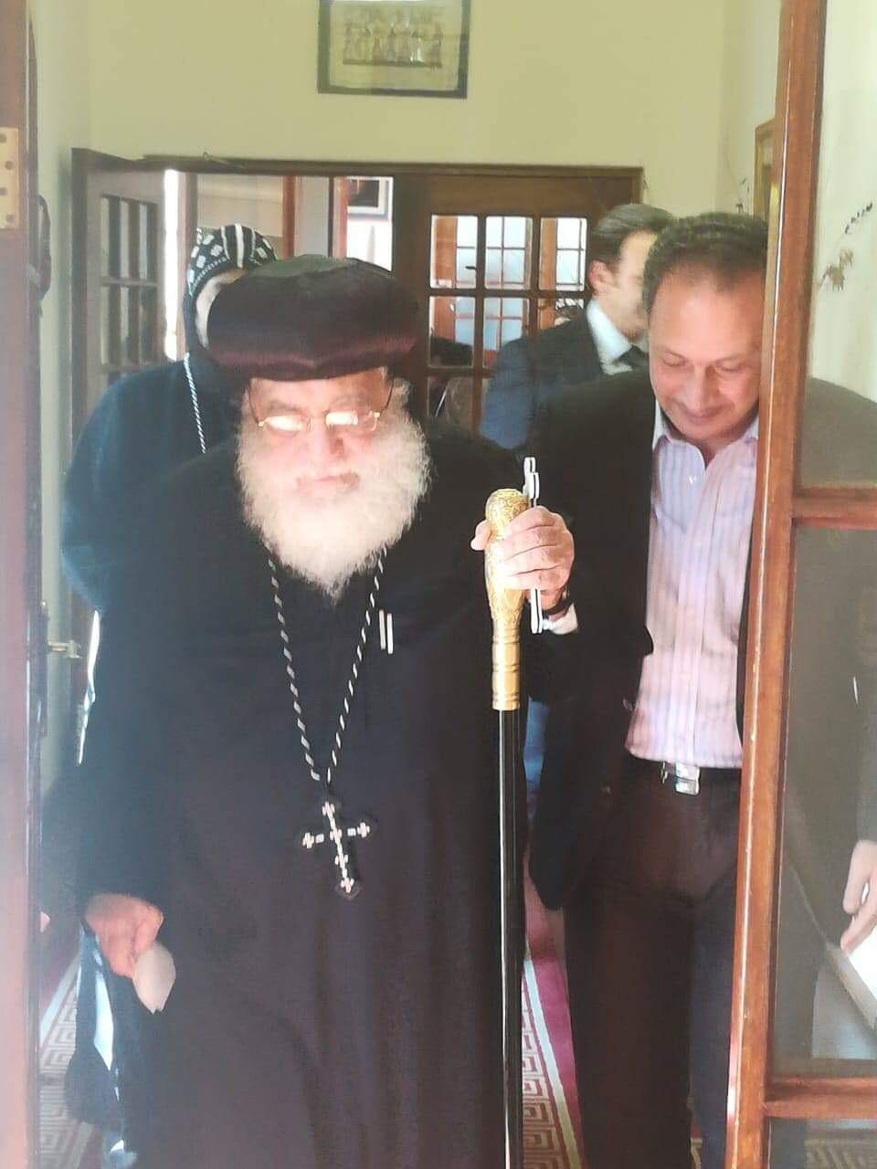 ممثلو الكنيسة المصرية في جوهانسبرج (9)