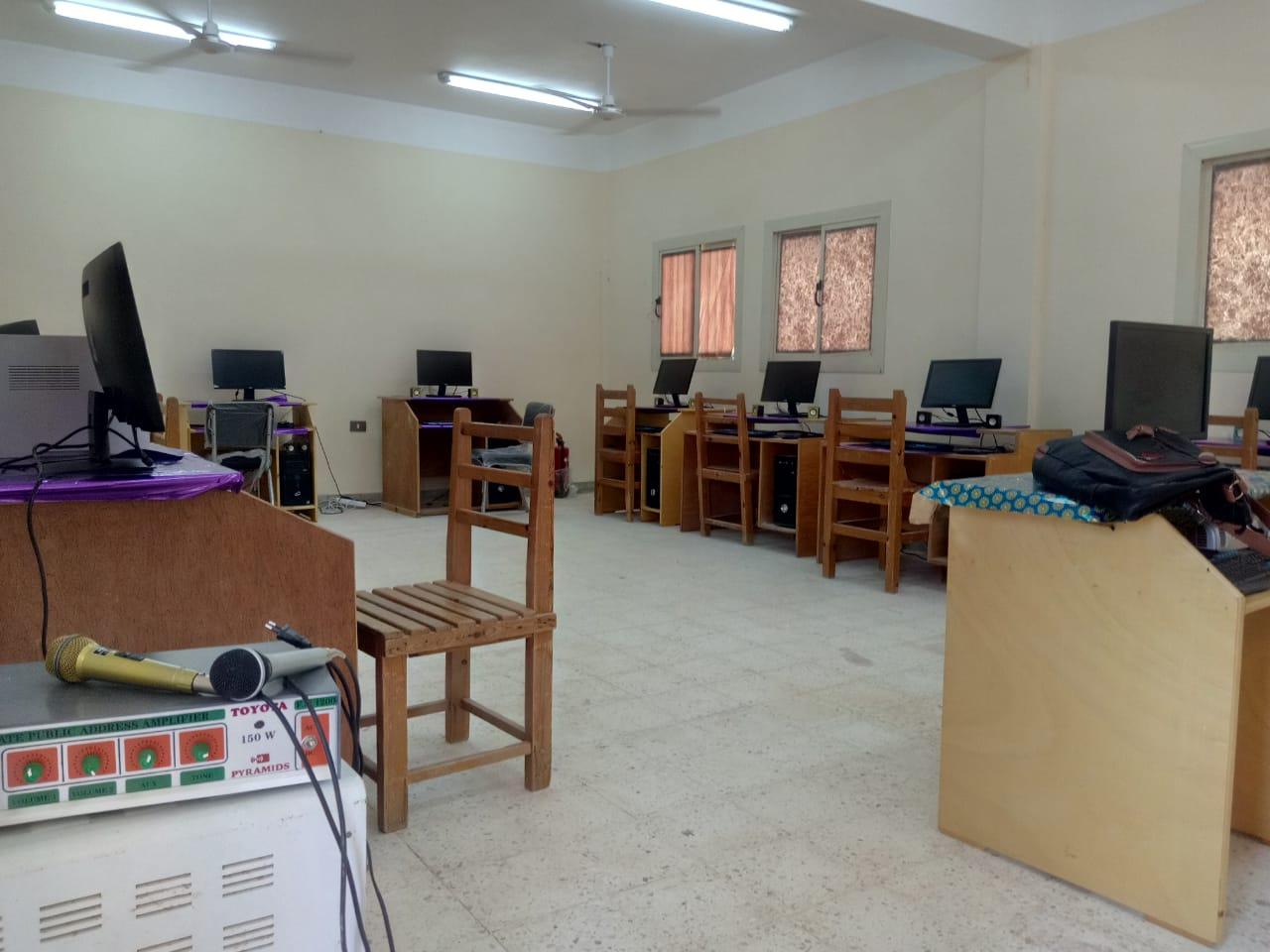 محافظ شمال سيناء يفتتح توسعات مدرسة  الشهيد رائد عمرو فريد بقرية الكرامة (14)