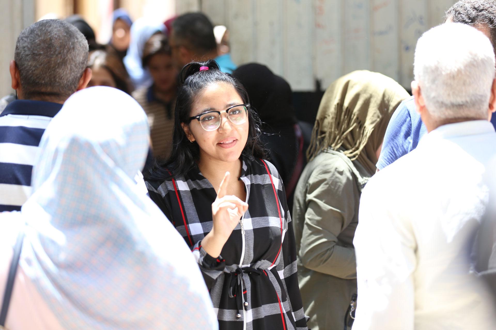 خروج الطالبات من ماده الإقتصاد والإحصاء