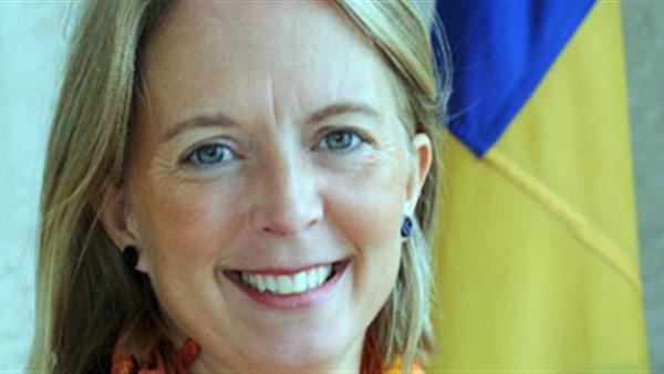 سفيرة السويد تزور مكتب المساعدة القانونية بمحكمة مصر الجديدة