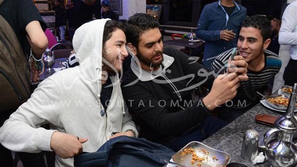 بالصور.. أول ظهور لأحمد مالك بعد واقعة «الواقي الذكري»