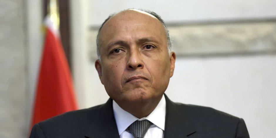 سامح شكري يشارك في احتفال السفارة المصرية بباريس بذكرى ثورة ٢٣ يوليو