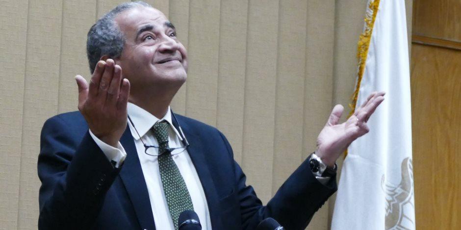 وزير التموين: لن أتنازل عن تخفيض حصة «الكارت الذهب».. ولا مساس بالدعم