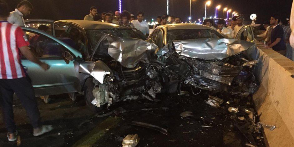 نزيف الأسفلت.. إصابة 13 شخصا في 3 حوادث طرق منفصلة بالقاهرة والمحافظات