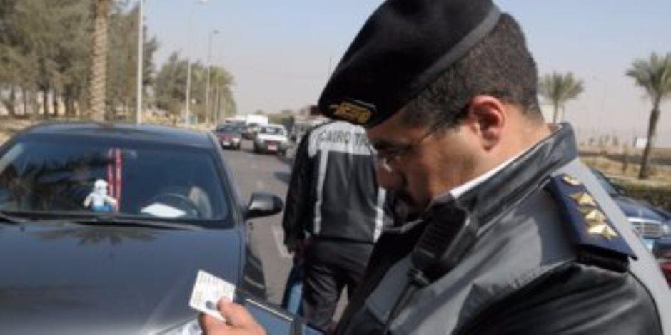مرور القاهرة يحرر 600 مخالفة للدراجات البخارية خلال 3 أيام