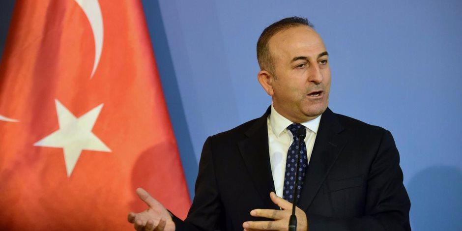 تشاووش أوغلو: علاقات تركيا بروسيا أقوى من أن يكسرها ماكرون