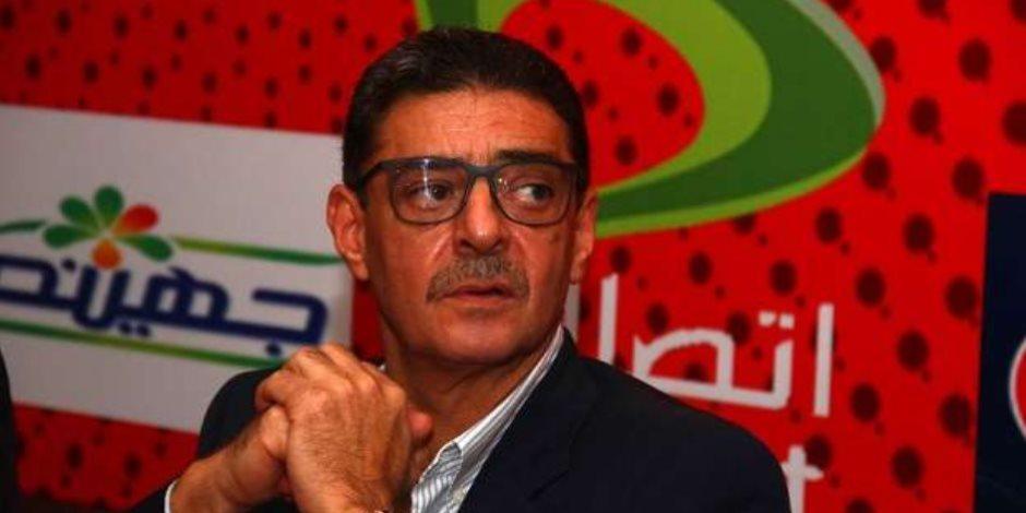 محمود طاهر يحضر مباراة الأهلي ومنتخب الهند للناشئين