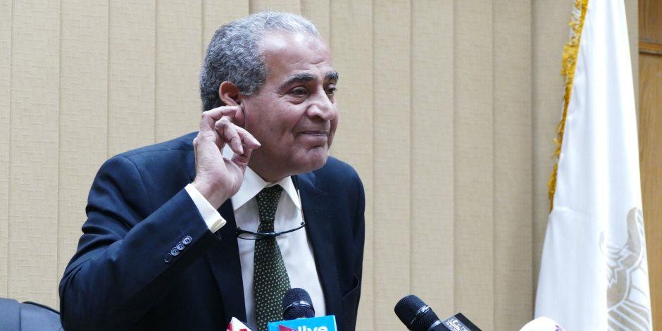 وزير التموين يلتقى أصحاب المخابز والمطاحن قبل إعلان تفاصيل صرف الدقيق
