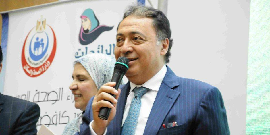 «وزير الصحة» يشارك في اجتماعات الجامعة العربية لمناقشة مشاريع نقل الدم