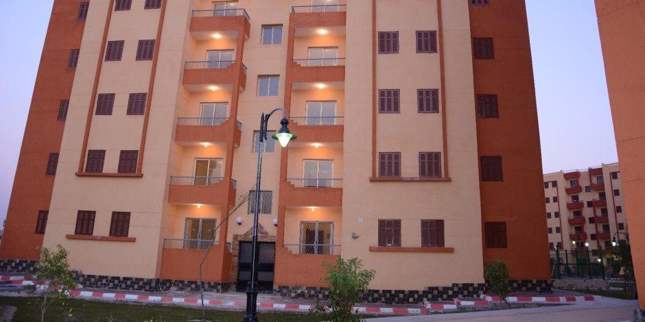 ننشر مواعيد التسليم وأسماء المستفيدين بـ370 وحدة سكنية بالطور ومرسى مطروح