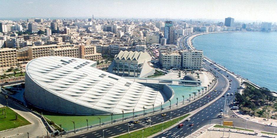 عدسة متحف الفن الإسلامي في معرض بمكتبة الإسكندرية