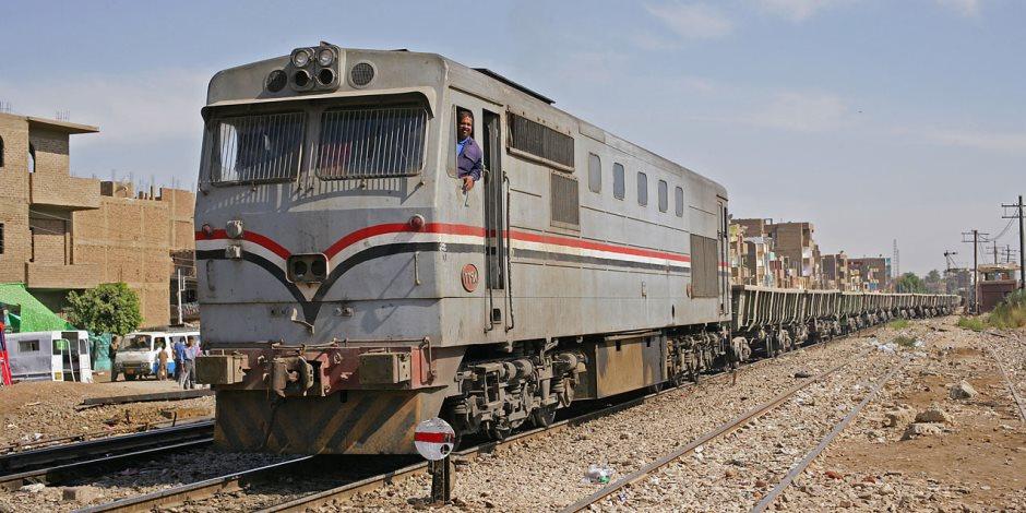 تأخر عدد من قطارات السكة الحديد بالوجهين البحري والقبلي