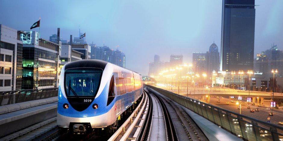شاهد.. طريقة عمل مترو دبي في دقيقتين (فيديو)