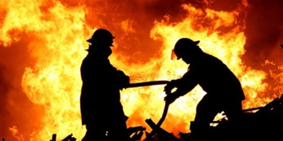 الحماية المدنية تسيطر على حريق عقار بجامعة الدول العربية