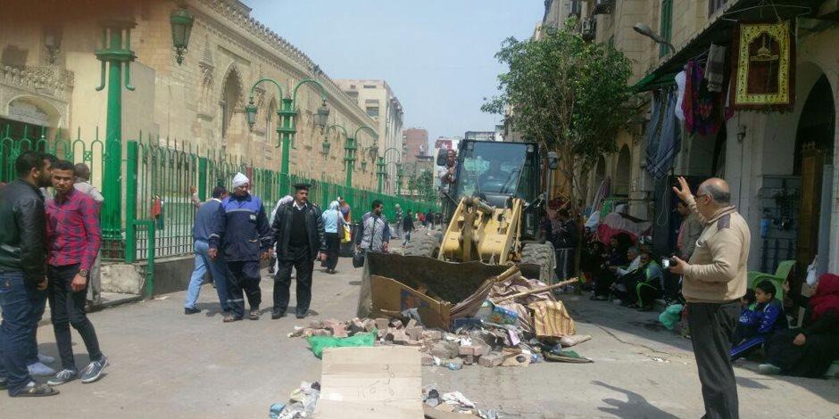 الكسباني: أضرار بالغة لحقت بشارع المعز عقب ثورة 25 يناير