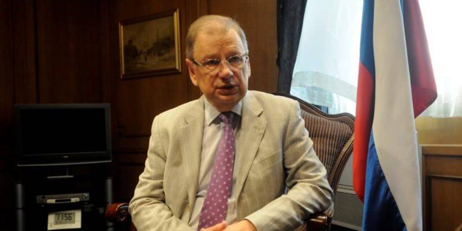 سفير روسيا بالقاهرة لـon live: نهاية الأزمة السورية قد يكون مدخلا لإنهاء الخلاف بين السعودية وإيران