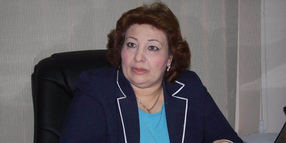 انضمام البرلمانية مارجريت عازر للحملة الوطنية «مع السيسي للحصاد»