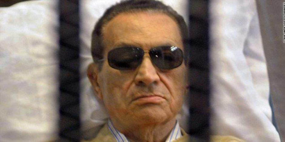 24 مارس.. الإدارية تفصل في طعون مبارك والعادلي علي حكم تغريمهما 540 مليون جنيه