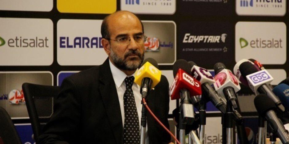 عامر حسين: مباريات الدوري في شهر رمضان «العاشرة مساء»