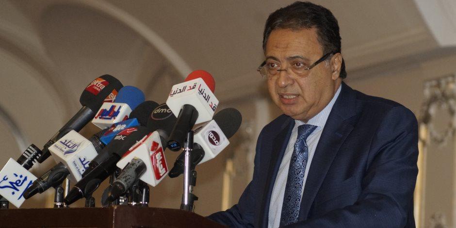 وزير الصحة: إدارة الشئون الصيدلية أنهت عمل سنوات في سنتين فقط