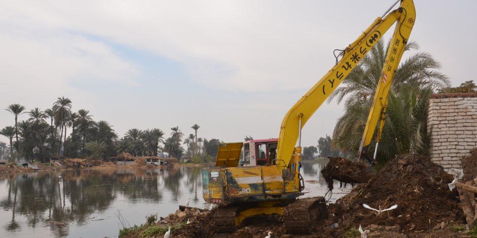 وزارة الري: بدء المرحلة الثالثة من تطوير مجرى نهر النيل من كوبري 15 مايو إلى إمبابة