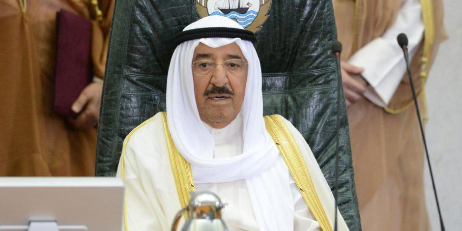 أمير الكويت يهنئ الرئيس السيسى بمناسبة أدائه اليمين الدستورية