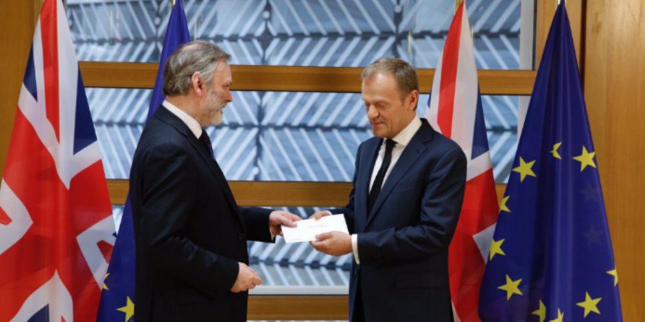 الاتحاد الأوروبي يعلن تسلمه رسالة رسمية من بريطانيا للانفصال عنه