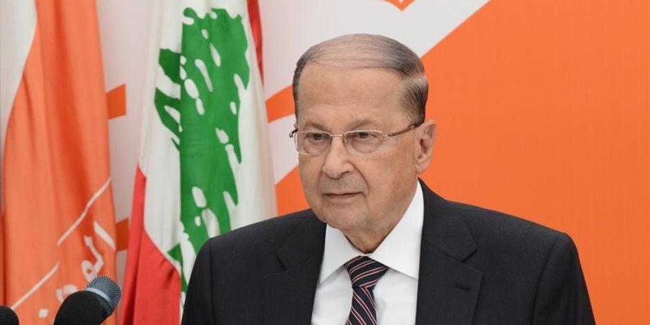 """هذه رسالة الرئيس اللبناني لـ""""واشنطن"""" حول النازحين السوريين"""