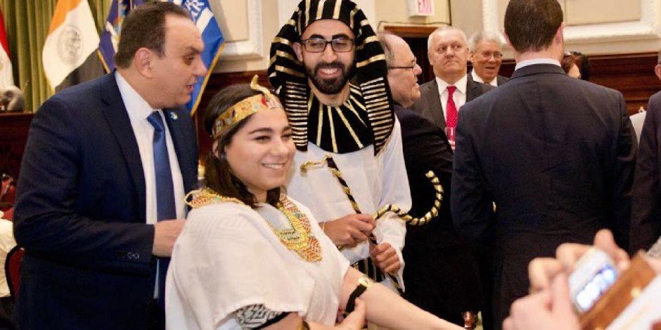 تزامنًا مع وصول السيسي.. «القنصلية المصرية» تروج للسياحة في نيويورك