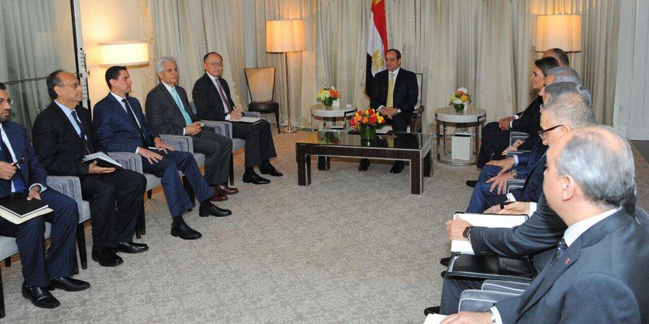 تفاصيل لقاء السيسي مع السيناتور صاحب مشروع تصنيف «الإخوان» منظمة إرهابية