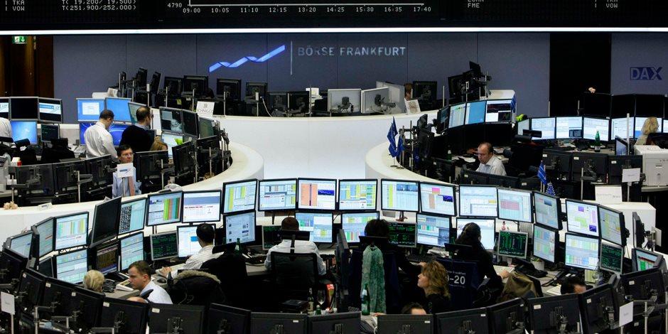 هبوط الأسهم الأوروبية في التعاملات الصباحية متأثرة بالانتخابات الألمانية
