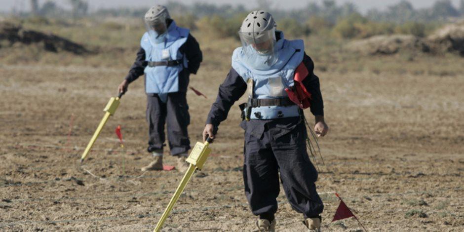 """جارى إبطال الألغام.. هل ينهي مشروع """"مسام"""" معاناة المدنيين من قنابل الحوثيين؟"""