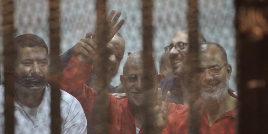 """""""فض رابعة"""" و""""أحداث مجلس الوزراء"""".. أبرز محاكمات اليوم أمام الدوائر المختلفة بالقاهرة والمحافظات"""