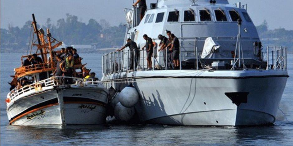 خفر السواحل الإيطالي: إنقاذ 1350 مهاجرا غير شرعي بالقرب من السواحل الليبية
