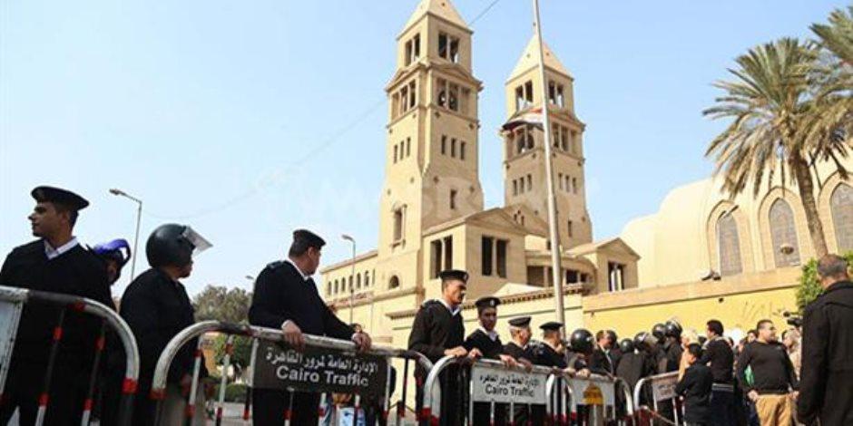 الداخلية تؤمن الكنائس في احتفالات الكريسماس بـ40 لواء شرطة و200 ألف ضابط ومجند
