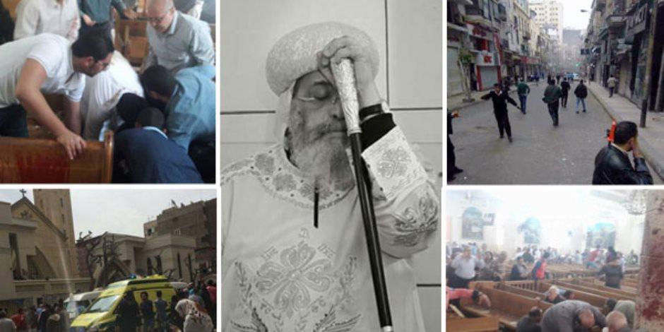 موقع فلسطيني: مخطط قطري تركي بأيادي إخوانية وراء حادثي مارجرجس والمرقسية